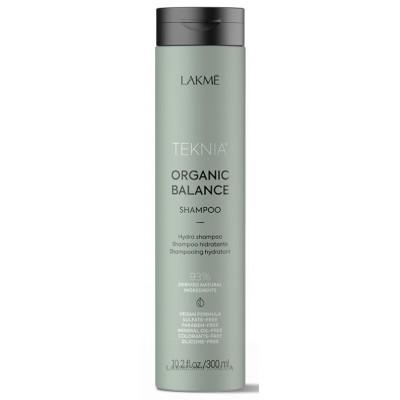 Шампунь для волос ежедневного использования 300 мл Lakme Teknia Organic Balance Shampoo