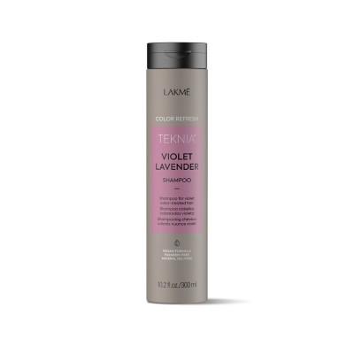 Шампунь для волос фиолетовых оттенков 300 мл Lakme Teknia Color Refresh Violet Lavender Shampoo