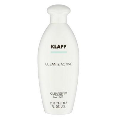 Базовая очищающая эмульсия KLAPP Clean&Active Cleansing Lotion