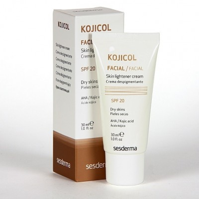 Осветляющий крем с СПФ 20 Sesderma Kojicol skin lightener cream SPF 20