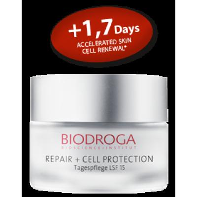 Омолаживающий дневной крем против фотостарения СПФ-15 Biodroga Day Care SPF 15