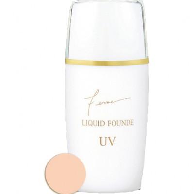 Жидкая тональная основа тон 02 UV30 Isehan Liquid Founde