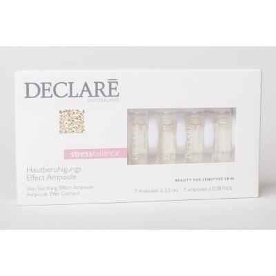 Успокаивающий концентрат для чувствительной кожи Declare Skin Soothing Effect Ampoule