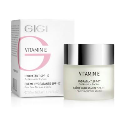 Увлажняющий крем для сухой кожи СПФ-17 Vitamin E GIGI Moisturizer for dry skin SPF 17