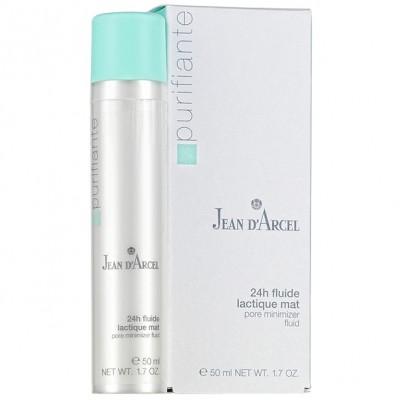 Флюид для жирной кожи суживающий поры 24 ч. Jean dArcel Lactique Pore Minimizer Fluid