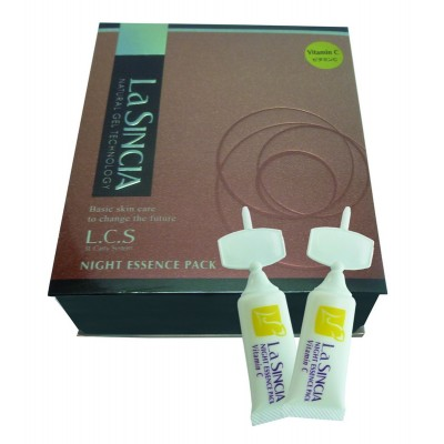 Ночная восстанавливающая эссенция Витамин С La Sincere NIGHT ESSENCE PACK Vitamin C