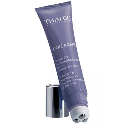 Коллагеновый гель c роликовым аппликатором для контура глаз Thalgo Collagen Eye Roll-on