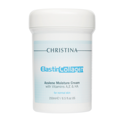 Эластин коллаген азулен крем Christina Elastin Collagen Azulene Moisture Cream with Vit. A, E, HA