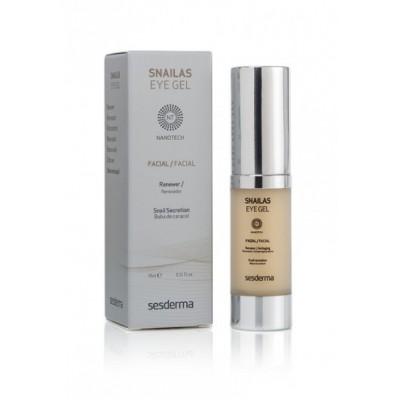 Обновляющий гель для век Sesderma SNAILAS Eye gel