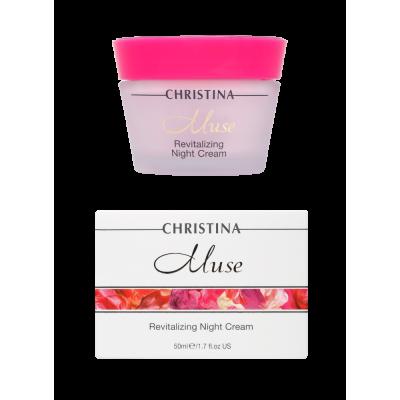 Восстанавливающий ночной крем Мус Christina Muse Revitalizing Night Cream