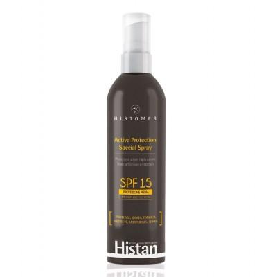 Солнцезащитный спрей для детей-лица-тела СПФ-15 Histomer Histan Active Protection Spray SPF-15