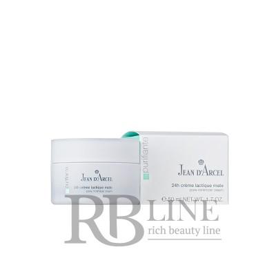 Крем для жирной кожи суживающий поры 24 ч. Jean dArcel Lactique Pore Minimizer Cream