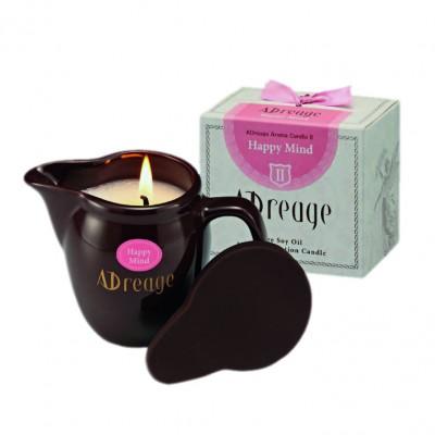 Увлажняющая массажная арома-свеча La Sincere Adreage Massage Lotion Candle Healing Brain