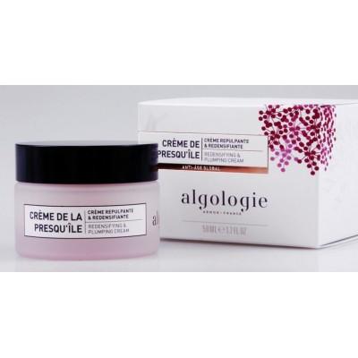 Укрепляющий крем c эффектом филлера Клеточная защита Algologie Redensifying&Plumping Cream