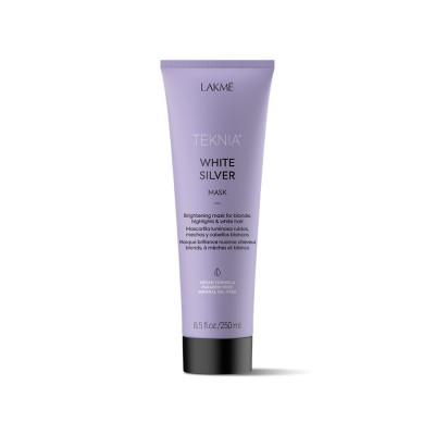 Маска для светлых и осветленных волос 250 мл Lakme Teknia White Silver Mask