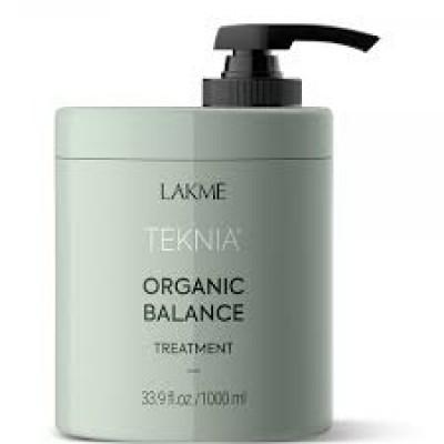 Средство для ухода за волосами 1000 мл Lakme Teknia Organic Balance Treatment