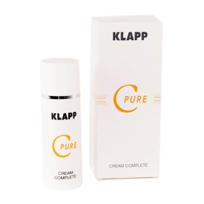 Крем восстанавливающий Витамин С KLAPP C PURE Сream Complete