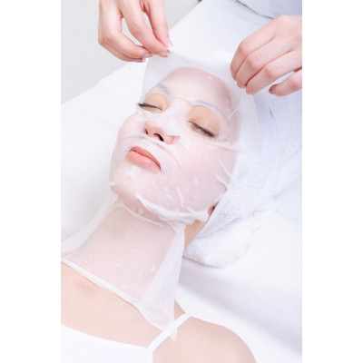 Коллагеновая маска с экстрактом Аллоэ Вера Dr. Spiller Fleece Mask Aloe Vera