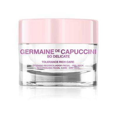 Крем успокаивающий для сухой кожи Germaine de Capuccini So Delicate Tolerance Rich Care