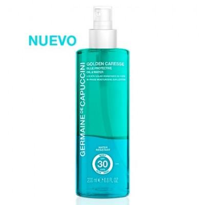 Защитный лосьон Blue Protective (бифаза) SPF 30 Germaine de Capuccini BLUE PROTECTIVE OIL WATER BI-PHASE MOISTURISING SUN LOTION