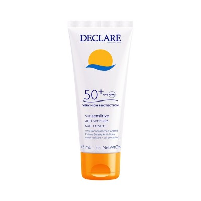 Солнцезащитный крем потив морщин СПФ-50+ Declare Anti-Wrinkle Sun Cream SPF-50+