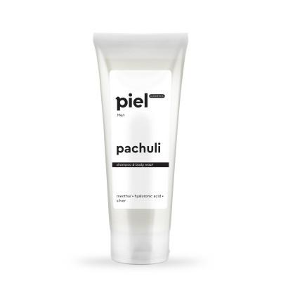 Шампунь-гель для душа для мужчин Piel Cosmetics Pachuli
