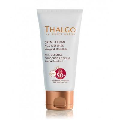 Солнцезащитный крем, предупреждающий старение кожи SPF50+ Thalgo AGE DEFENCE SUN SCREEN CREAM