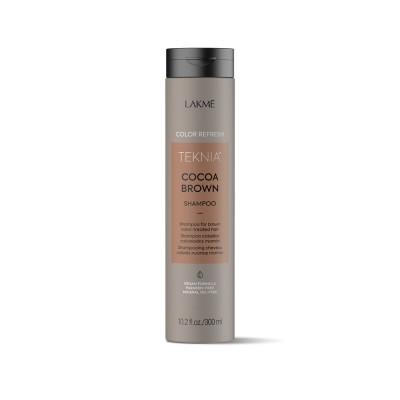 Шампунь для волос коричневых оттенков Lakme Teknia Color Refresh Cocoa Brown