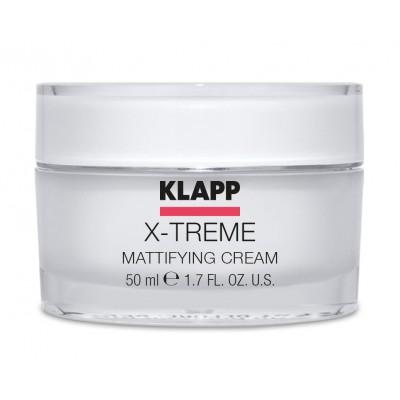 Матирующий крем для лица Экстрим KLAPP X-Treme Mattifying Cream