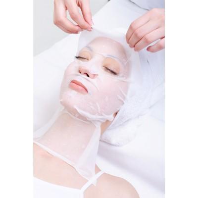 Разглаживающая и увлажняющая маска-флис с протеинами шелка Dr.Spiller Hydro Smoothing Silk Fleece Mask