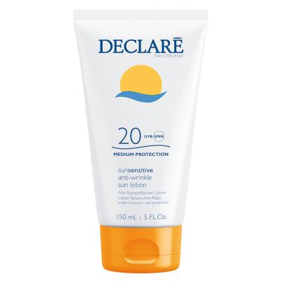 Солнцезащитное молочко против старения кожи СПФ-20 Declare Anti-Wrinkle Sun Protection Lotion SPF-20