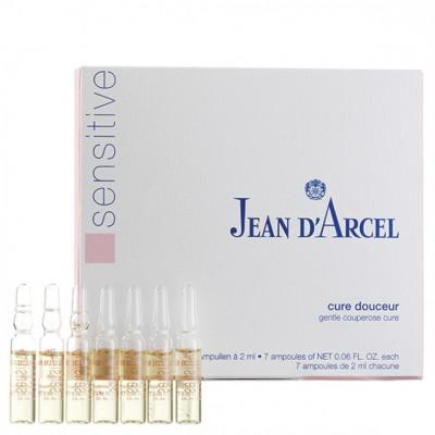 Концентрат антистресс для кожи с куперозом Jean dArcel SOS cure douceur