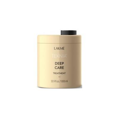 Восстанавливающий шампунь для сухих и поврежденных волос 1000 мл Lakme Teknia Deep Care Shampoo