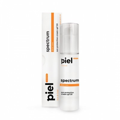 Солнцезащитный крем для лица SPF 50 Piel Cosmetics Cream SPECTRUM SPF50 Sun Care