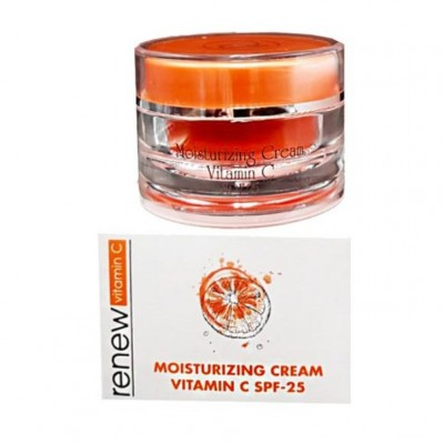 Крем антиоксидант с активным вмиаминос С SPF-25 Renew Moisturizing Cream Vitamin C