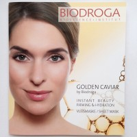Anti-Age маска моментального действия Biodroga Instant Beauty Firming Hydration Sheet Mask