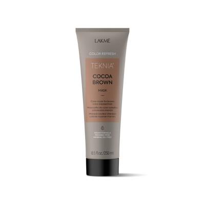 Маска для волос коричневых оттенков Lakme Teknia Color Refresh Brown Mask