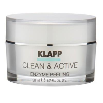 Базовый крем-пилинг KLAPP Clean&Active Enzyme Peeling