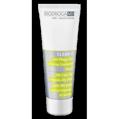 Крем для лечения проблемной сухой кожи 24-часового действия Biodroga MD™ 24h Care for impure dry skin