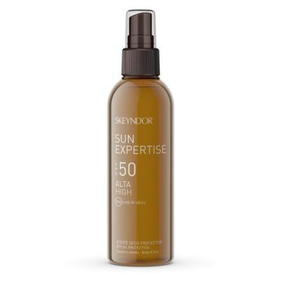 Солнцезащитное сухое масло для тела и волос SPF 50 Skeyndor