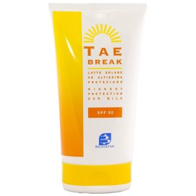 Солнцезащитный крем-гель SPF 50 для лица-тела-детей BIOGENA TAE BREAK Histomer