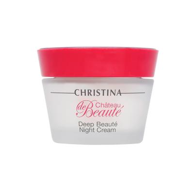 Интенсивный обновляющий ночной крем Christina Deep Beaute Night Cream