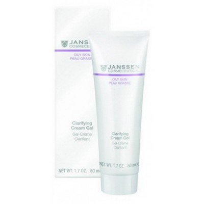 Себорегулирующий крем-гель Janssen Clarifyng Cream Gel