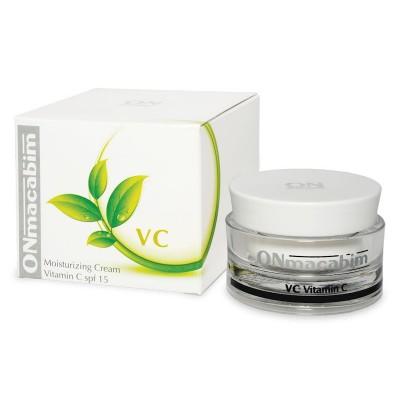 Увлажняющий крем с витамином С SPF 15 Onmacabim MOISTURIZING CREAM VIT C