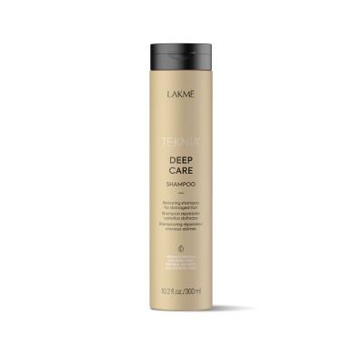 Восстанавливающий шампунь для сухих и поврежденных волос 300 мл Lakme Teknia Deep Care Shampoo
