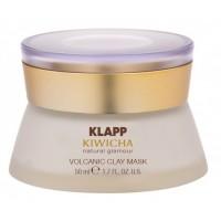 Каолиновая маска для разглаживания морщин KLAPP Kiwicha Volcanic Clay Mask
