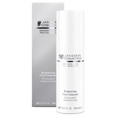 Осветляющая очищающая эмульсия Janssen Brightening Face Cleanser
