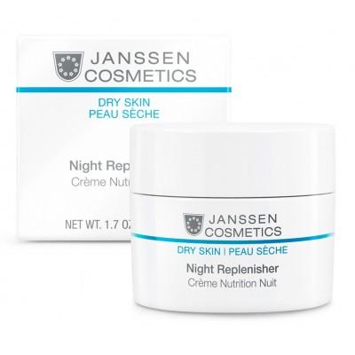 Обогащенный ночной крем Janssen Night Repinisher