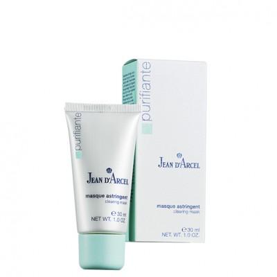 Маска - антисептик, нормализующая секрецию сальных желез Jean dArcel Astringent Mask