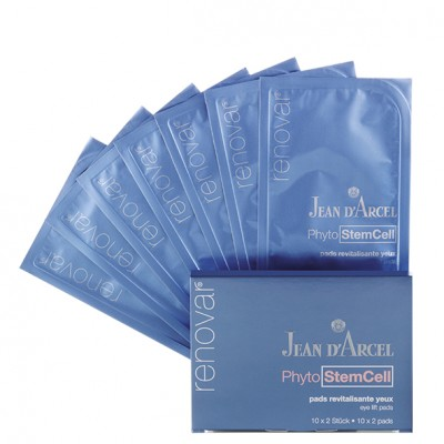Аква-гель патчи для подтяжки кожи вокруг глаз Jean dArcel Eye Lift Pads
